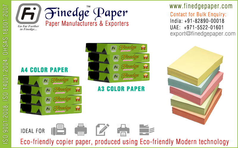 a4 size color paper a3 size color paper manufacturers exporters suppliers in india