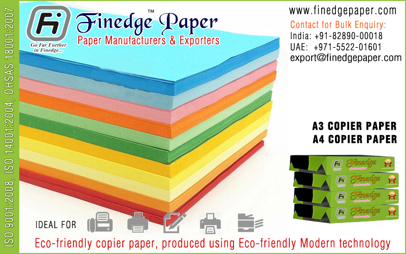 a4 size color paper a3 size color paper exporters suppliers manufacturers in india