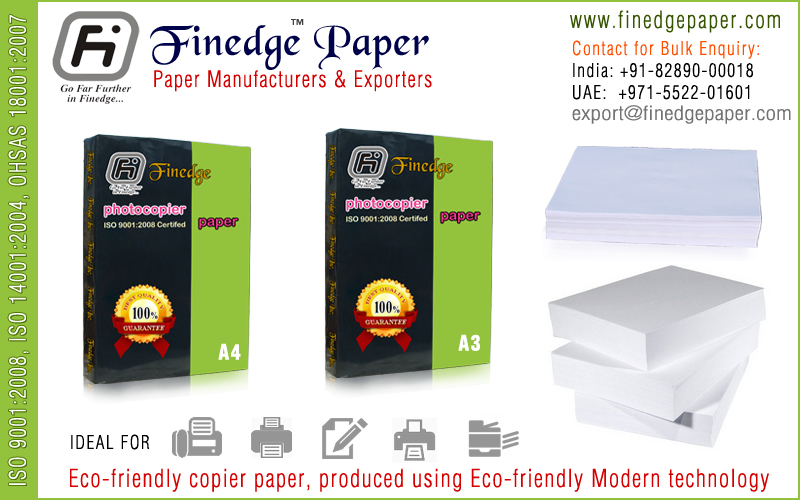 a4 size copier paper exporters suppliers manufacturers in india